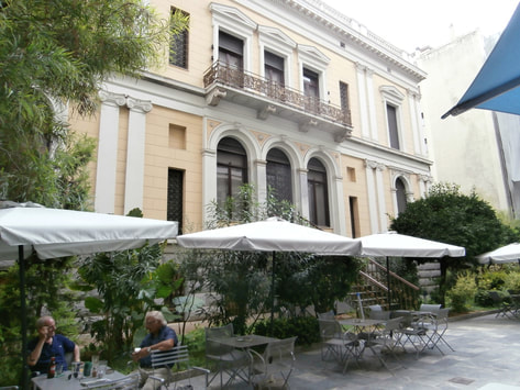 The Numismatic Museum of Athens outdoor Cafe is one of the city's best kept secrets.