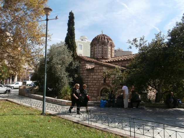 The church of Aghioi Assomatoi, Athens