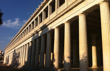 Stoa of Attalos, Ancient Agora, Athens.
