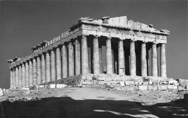 The Parthenon, 1980s.