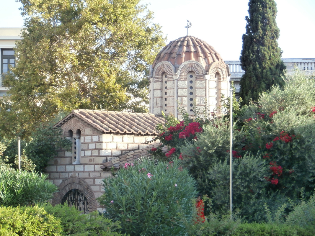PictureThe church of Aghioi Assomatoi, Athens.