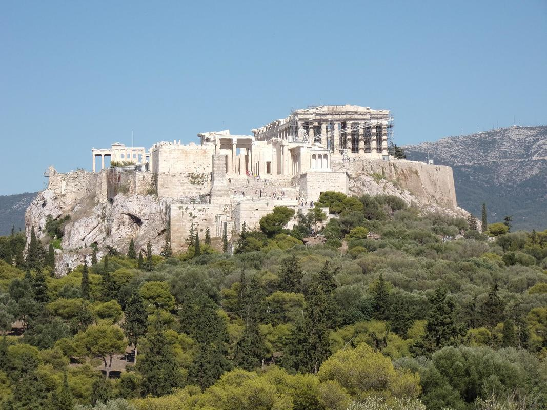 The Athenian Acropolis by John Vellis