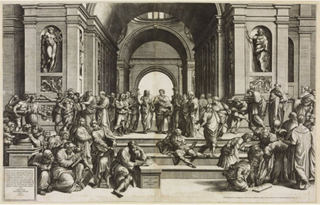 "The view of the Acropolis of Athens from ""Areopagus"" by N Stjerna is licensed under CC BY 2.0"