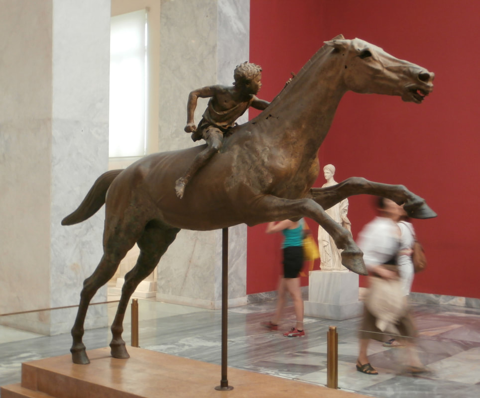 The Rider from Delphi, National Archaeological Museum, Athens.