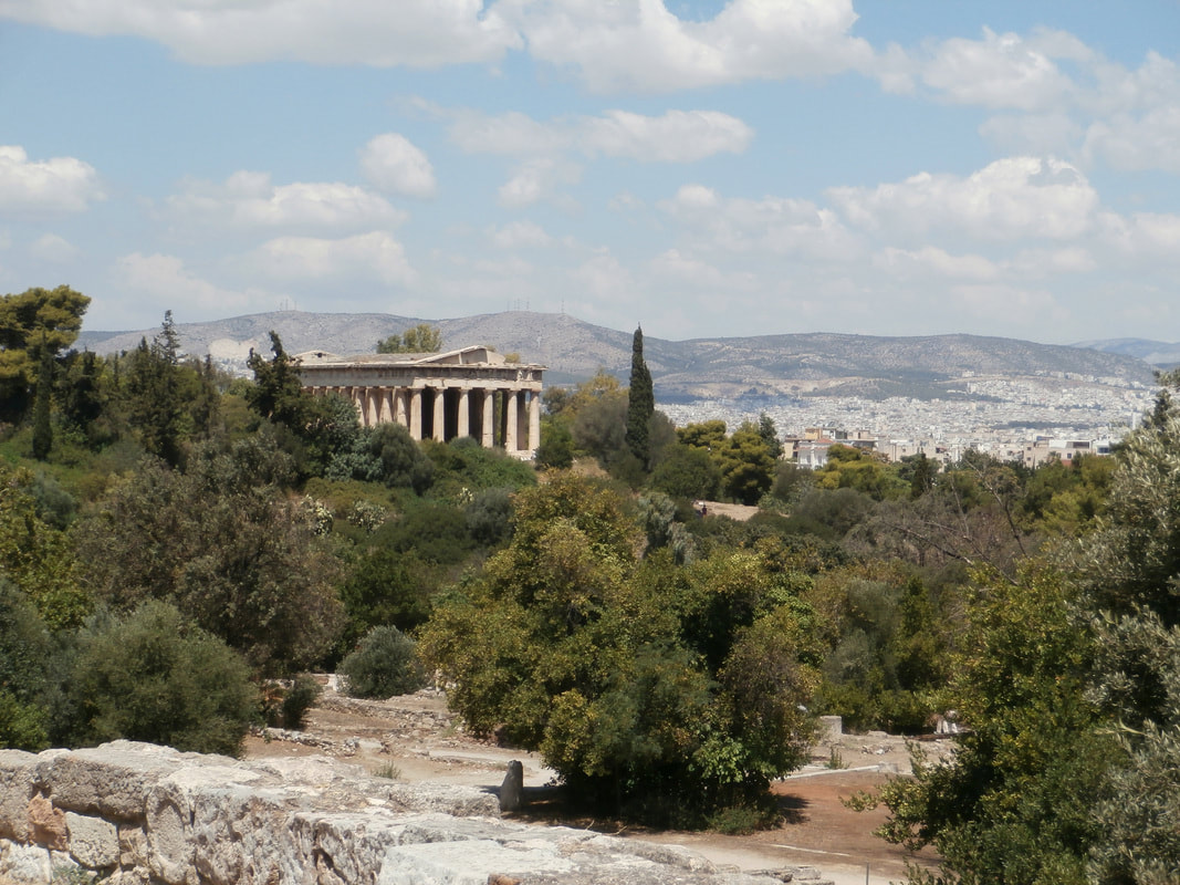 The Temple of Hephaestos, Athens.