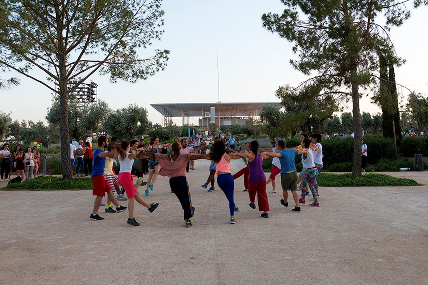 Activities at the Stavros Niarchos Park.