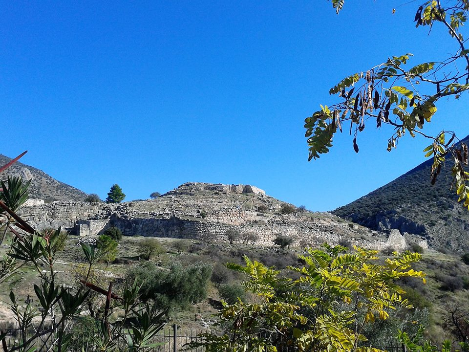 The citadel at Mycenae. Photograph courtesy of Marietta Makri.