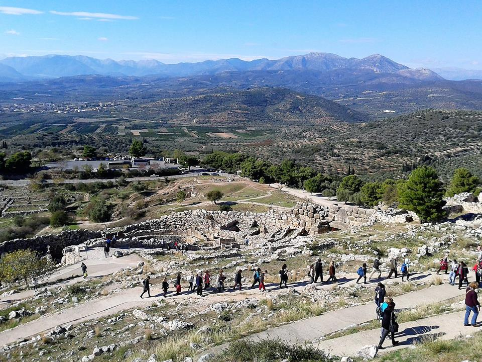 Mycenae. Photograph courtesy of Marietta Makri.