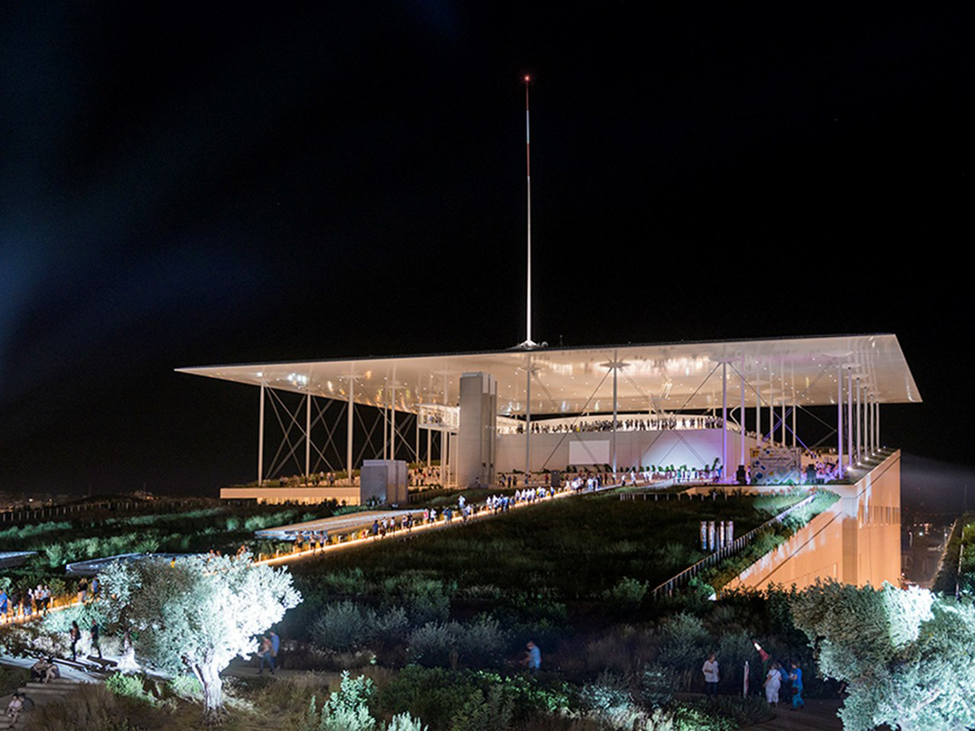 Τhe Stavros Niarchos Foundation Cultural Center.