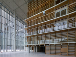 Greek National Library. Βook castle, © Stavros Niarchos Foundation