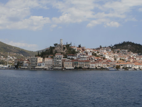 The picturesque island of Poros.