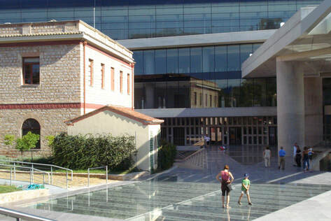 The new Acropolis Museum, Athens.
