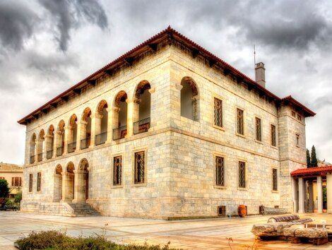 The Byzantine and Christian Museum of Athens.