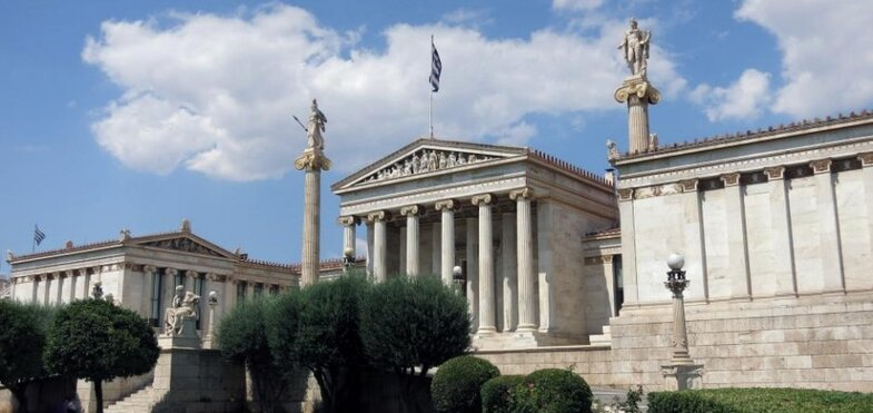 The University of Athens Central Building.